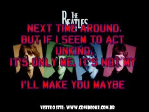 Beatles, The   I Want To Tell You