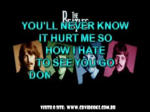Beatles, The   Dont Pass Me By