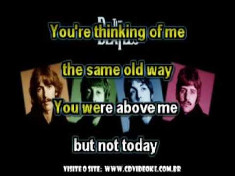 Beatles, The   I'm Looking Through You