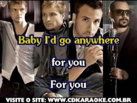 Backstreet Boys, The   Anywhere For You