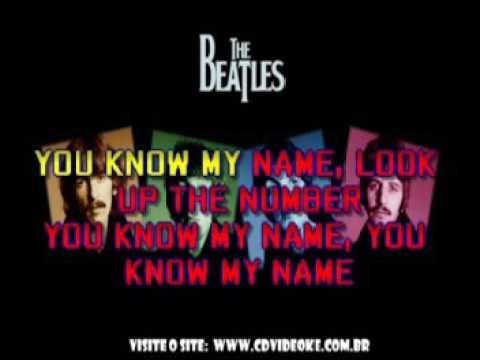 Beatles, The   You Know My Name Look Up The Number