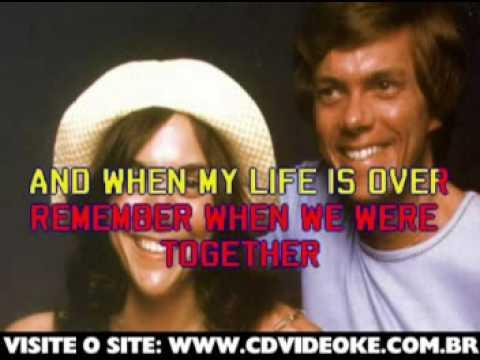 Carpenters, The   A Song For You