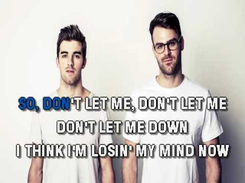 Chainsmokers & Daya   Don't Let Me Down
